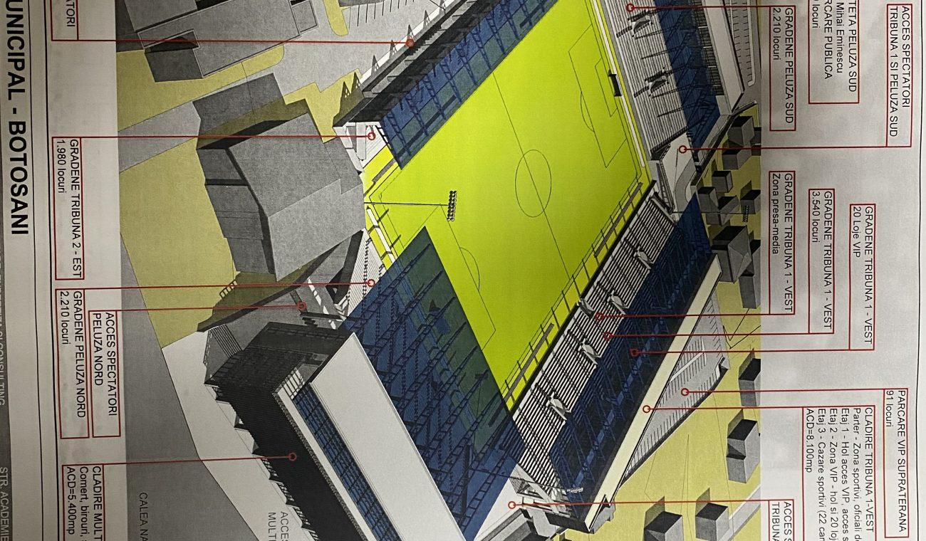 Silegeanu modernizare stadion